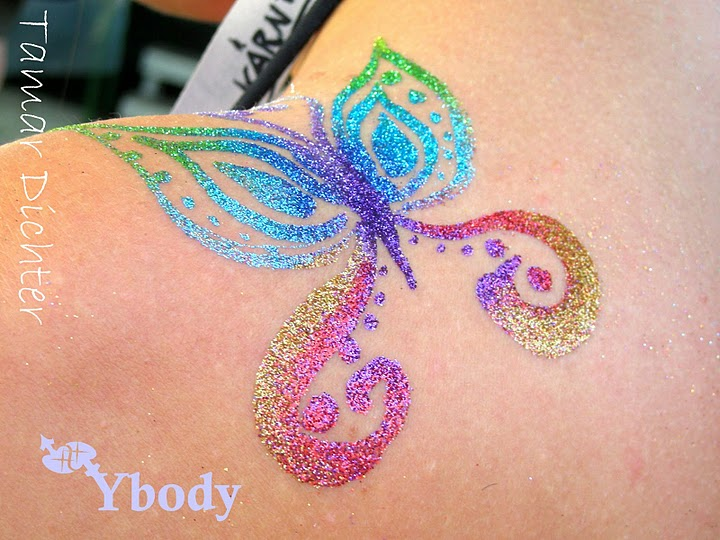 Glitter tattoo art welcome to ybody glitter tattoos for Where to get glitter tattoos